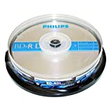 Philips BD-RDL 50GB 6X Double Layer 10 Pack Spindle