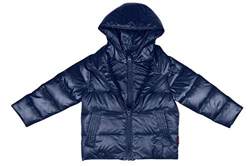 One Kid Car Seat Safety Road CoatDown Jacket - Navy