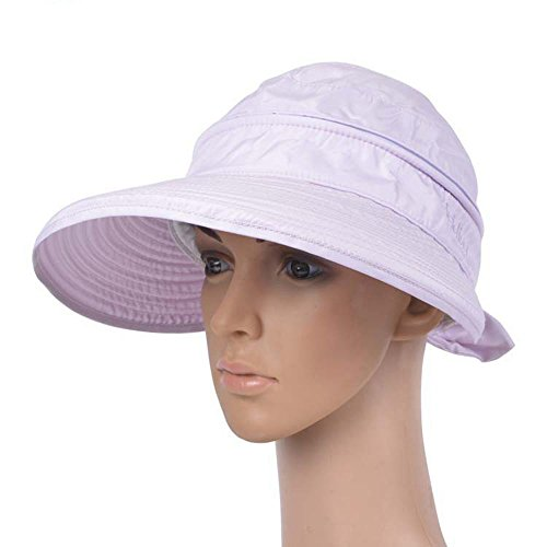 bounnty Women's Anti-UV Wide Brim Lightweight Golf Tennis Visor Sun (Pink Cookie Monster Costume)