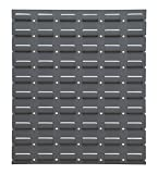 Durham LPW-17.25X20-95 Louvered Panel, Wall,17 1/4'' x 20'', Gray, 2'' Height, 18'' Width, 20'' Length