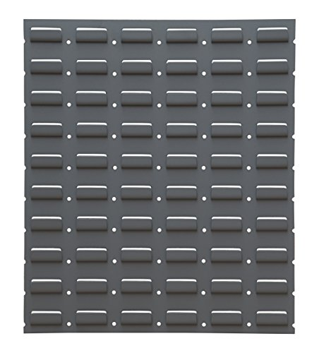 Durham LPW-17.25X20-95 Louvered Panel, Wall,17 1/4'' x 20'', Gray, 2'' Height, 18'' Width, 20'' Length by Durham