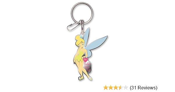 Plasticolor 004222R01 Enamel Tinker Bell Mystical Tink Key Chain