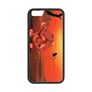 iPhone 6 Plus 5.5 Inch Cell Phone Case Black Disney The Lion King II Simba's Pride Character Nuka 007 PD5286822