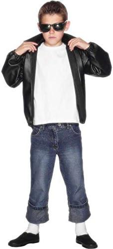 grease Licensed t-bird Jacket-Black, Size 10/12 Years: Amazon.es ...