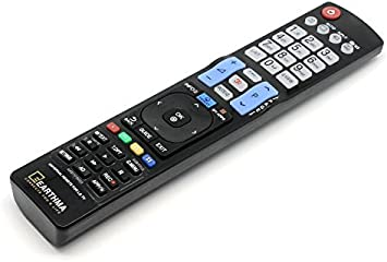 Control remoto universal para LG Smart 3D LED HDTV LCD de repuesto de TV: Amazon.es: Electrónica