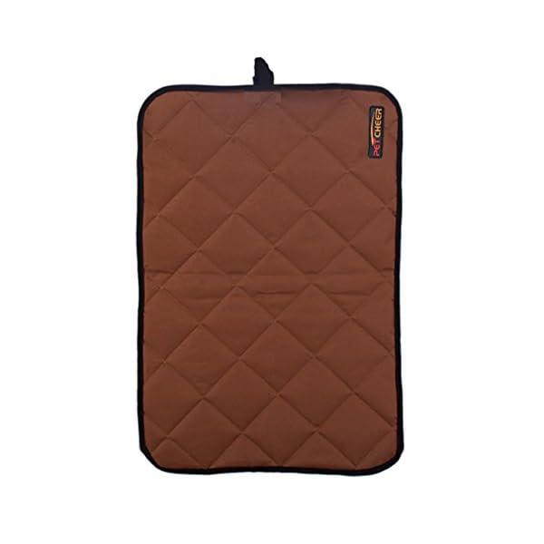 Paw Essentials PM0022 S G 177 X 236 Oxford Fabric Waterproof PetDogCat Mat For Home