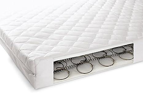 Cuna cama colchón impermeable bebé transpirable Extra,, primavera bebé colchón de muelles y de grosor 140 x 70 x 13 cm: Amazon.es: Bebé