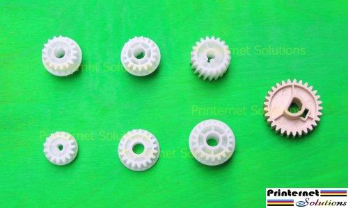 Fuser Gear (OEM--7 PIECE HP P3005 Noise Reduction Gear Kit Fuser Gear HP LJ P3005 P3005D P3005N)