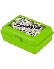 baagl Lunchbox voor kinderen voor school – lunchbox voor meisjes, jongens, kleuterschool – snackbox (zombie)