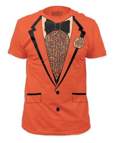 Orange Retro Prom Mens Tee M ()
