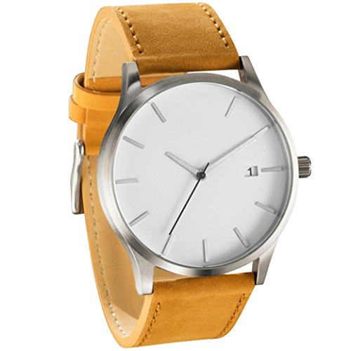 Dressin-Mens-Analog-Quartz-WatchesClassic-Popular-Low-Key-Minimalist-connotation-Leather-WatchSport-and-Business-With-Simple-Design-Wrist-Watch