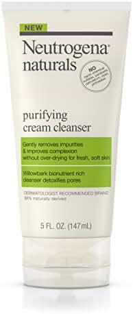 Neutrogena Naturals Purifying Cream Cleanser, 5 Oz