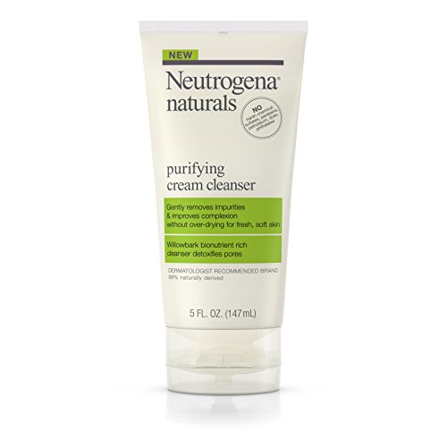 Neutrogena Naturals Purifying Daily Facial Cream Cleanser wi