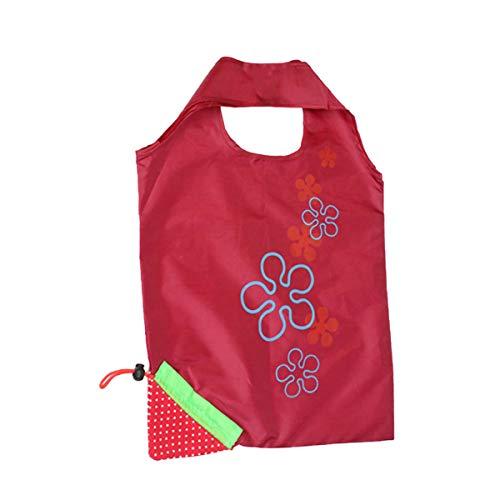 (Londony Waterproof Shopping Bag, Women Casual Handbags for Women Fruit Bags Reusable Wine)