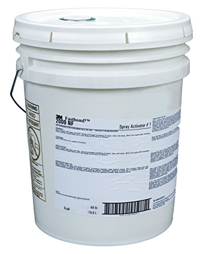 - 3M 89324 Fastbond Spray Activator 1 Pail, 1 per case, 5 gal