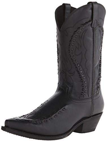 Laredo Men's Laramie Western Boot, Black, 9.5 D US