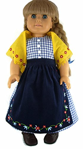 Trail Outfit for Pioneer Era American Girl by Doll Clothes Sew Beautiful