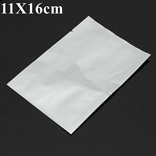 11X16cm Translucent Aluminum Foil Mylar Vacuum Bag Sealer Open Top Food Storage