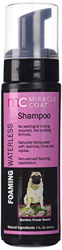 Miracle Coat Foaming Waterless Dog Shampoo 7 oz. by Miracle Coat -