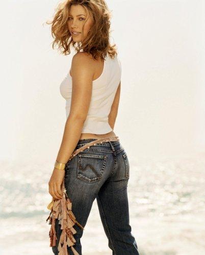 Jessica Biel Hot Tight Jeans 002 8x10 Photo