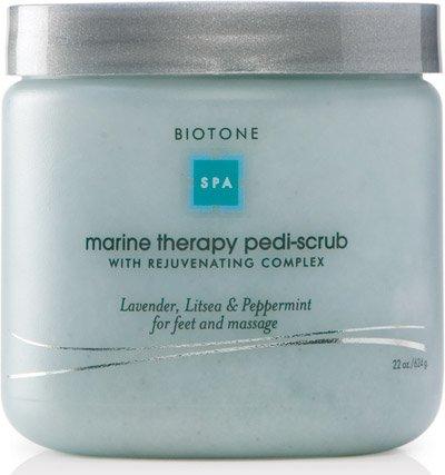 (Biotone Marine Therapy Pedi-Scrub, 22 Ounce)