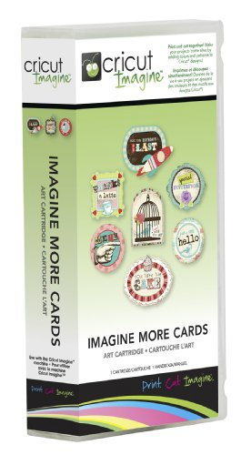 - Cricut Imagine Cartridge, Imagine More Cards