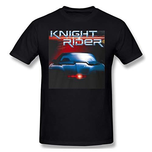 (BXNOOD Mens Particular Knight Rider Classic Retro Movie T Shirt 3XL Black)