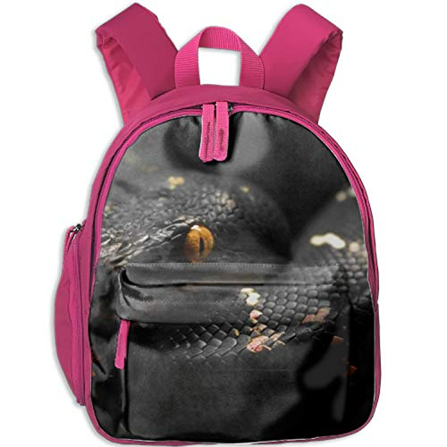 Black Snake Backpack, Great Junior School, Middle School Backpack School Bag Perfect Travel Kid's Backpack -