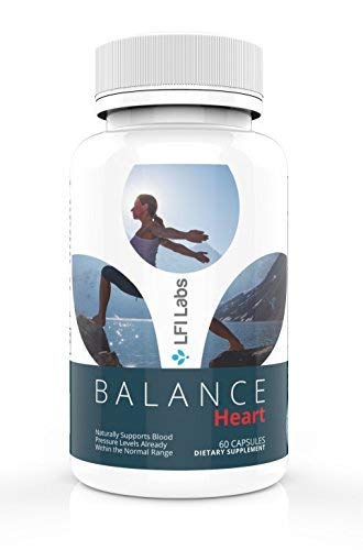 Blood Pressure Control Support Supplement - Natural Vitamins & Herbs; High to Low Lower; Cholesterol Lowering Cardiovascular Heart Health Vein Supplements; Hawthorn Berry Extract, Garlic, Folic Acid...