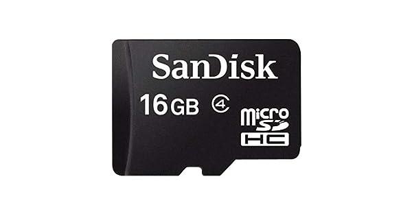 Amazon.com: SanDisk 16 GB MicroSDHC Clase de tarjeta de ...