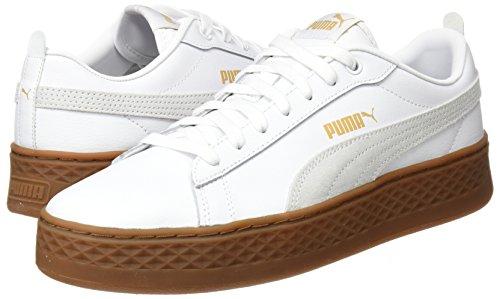 Zapatillas puma puma Para Mujer L Platform Blanco 02 White White Puma Smash wqxa44