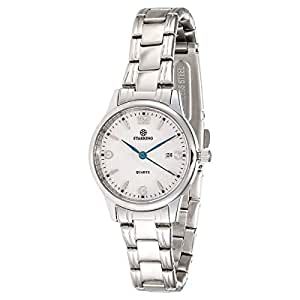 Starking Men's White Dial Stainless Steel Band Watch - BL0942SS11