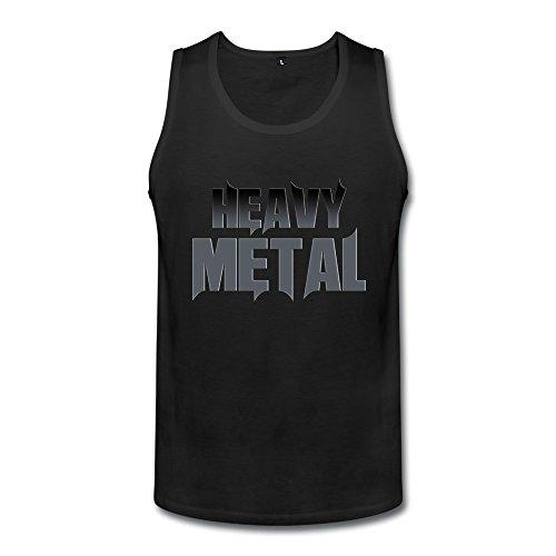 Heavy Metal Men's Heavy Metal Tanks Black