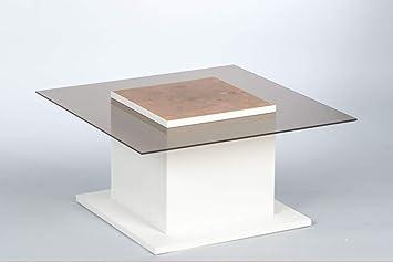 Stella Trading Couchtisch Woods 16740 Wohnzimmertisch Glastisch