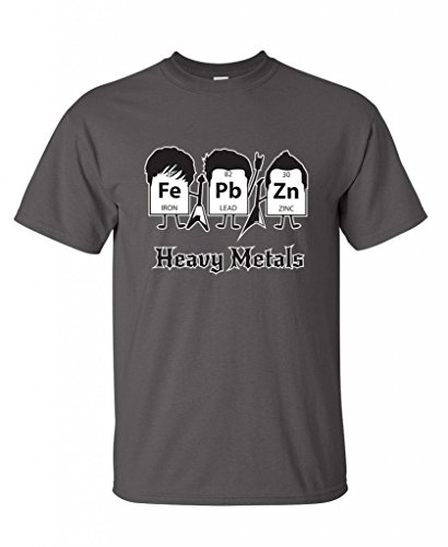 Metals Periodic Science Graphic T Shirt product image