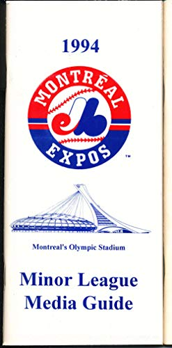 1994 Montreal Expos Minor League Media Guide bxorg2