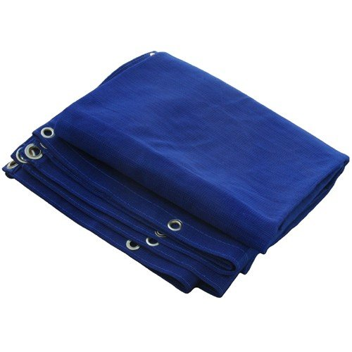 10 X 20 Heavy Duty Blue Mesh Tarp (Canvas Bag Tool 16')