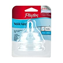 Playtex  Ventaire Advanced Natural Shape Fast Flow Stage 2 Wide Nipples