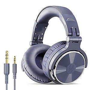 Casque DJ, OneOdio Pro10 Casque Audio Studio Professionnel, Casque Filaire, Casque de Monitoring, Son Parfait pour…