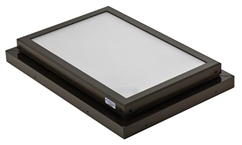 - Sunoptics SUN R2030 FLAT TGZ 50CC2 800MD BZ  2-Feet by 3-Feet Triple Glazed Fixed Curb-Mounted Prismatic Flat Skylight, Bronze