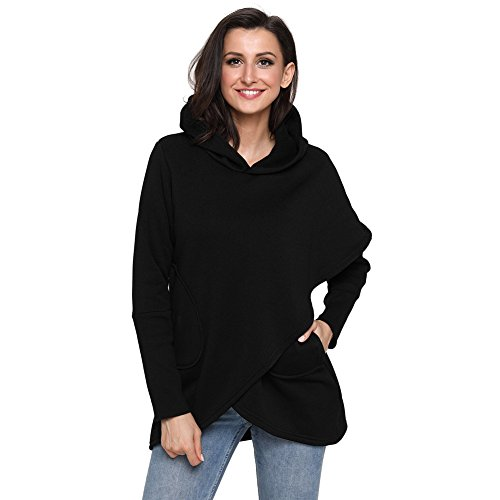 nbsp; nbsp;tops Sleeve Slim Women's Black Long Shirt T Fit 6IwxAXSqa