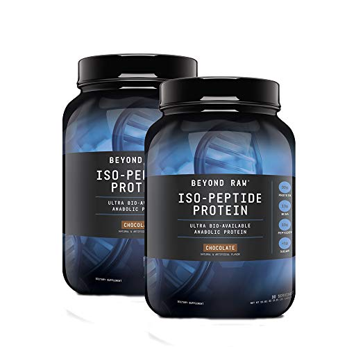Beyond Raw Iso-Peptide Protein - Chocolate - Twin Pack