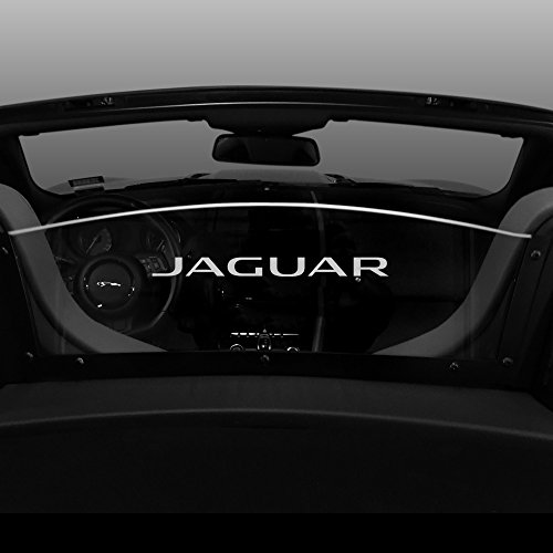 2013-2018 Jaguar F-Type Convertible Windscreen - Control air flow, cut down backdraft, wind noise - Patented Easy Install, Secure Mounting - Laser-Etched Design by Windrestrictor