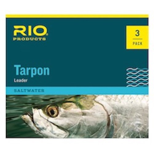 Rio Tarpon Fluorocarbon Shock Tippet Leader - 3 Pack