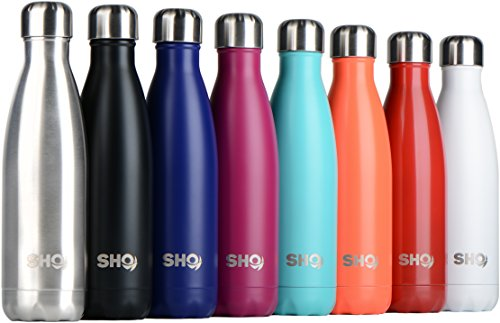 SHO Bottle - Ultimate Vacuum Insulated, Double Walled Stainless Steel Water...