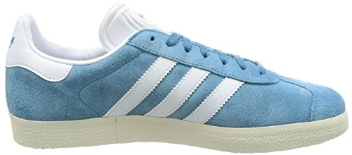 Adidas Gazelle Bz0022 Zapatos Para Hombre Azul (acero Táctil / Calzado Metálico Blanco / Oro) Con Paypal en línea Proveedor más grande de venta Compre Ebay barato Venta barata para barato Visita con descuento ojq2wJ2F