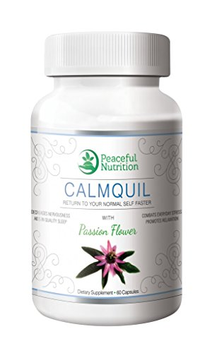Calmquil with Passionflower Anxiety Relief Supplement