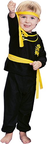 Baby Karate Costume (Karate Ninja Baby Infant Costume - Toddler)