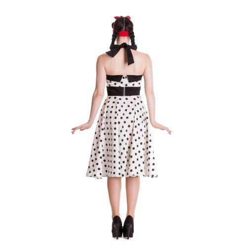 Hell Bunny vestido Adelaide 50's Dress White blanco