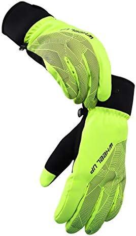 OhhGo 1 Paar Ski Handschoenen Outdoor Windproof Waterdichte Skin Handschoenen voor Mannen Vrouwen